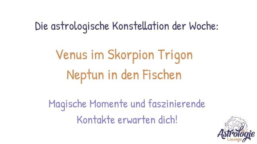 Astrologische Wochenvorschau KW43 2019